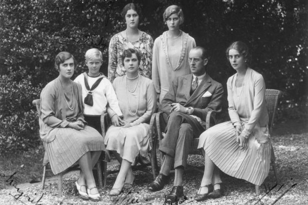 Prince Philip with his sisters and parents