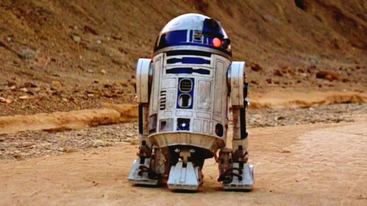 R2-D2 would make a great refrigerator.