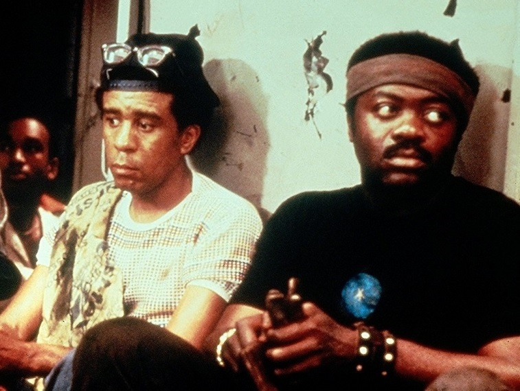 Richard Pryor and Yaphet Kotto in Blue Collar