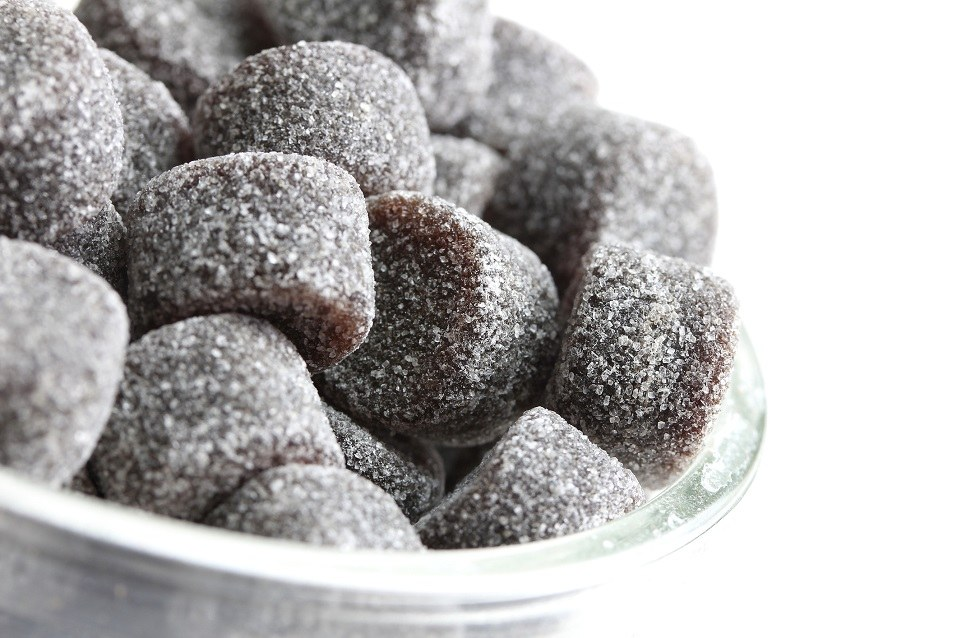Salty licorice drops