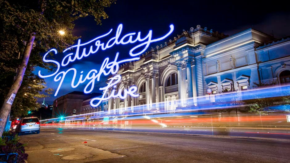 Saturday Night Live title sequence 2014