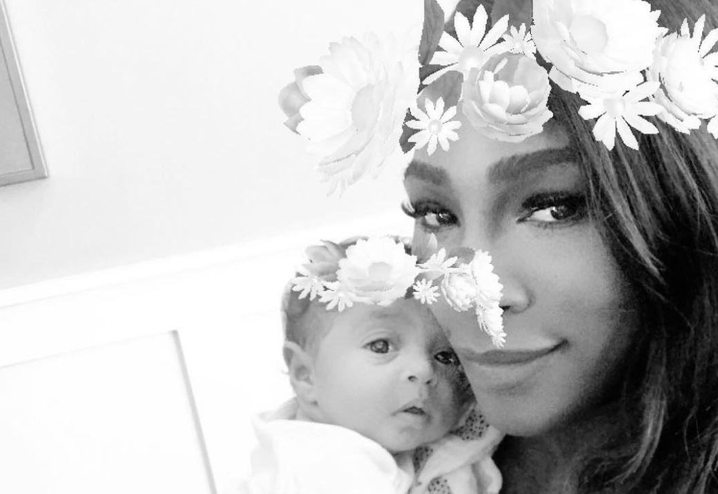 Serena Williams and baby Alexis Olympia Ohanian Jr.