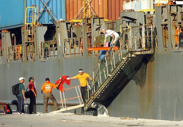 Somali pirate hostages