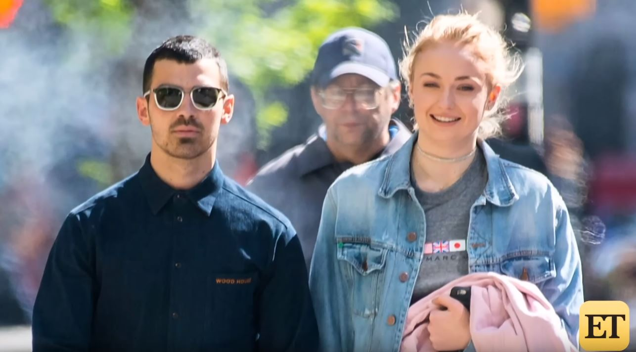 Joe Jonas and Sophie Turner