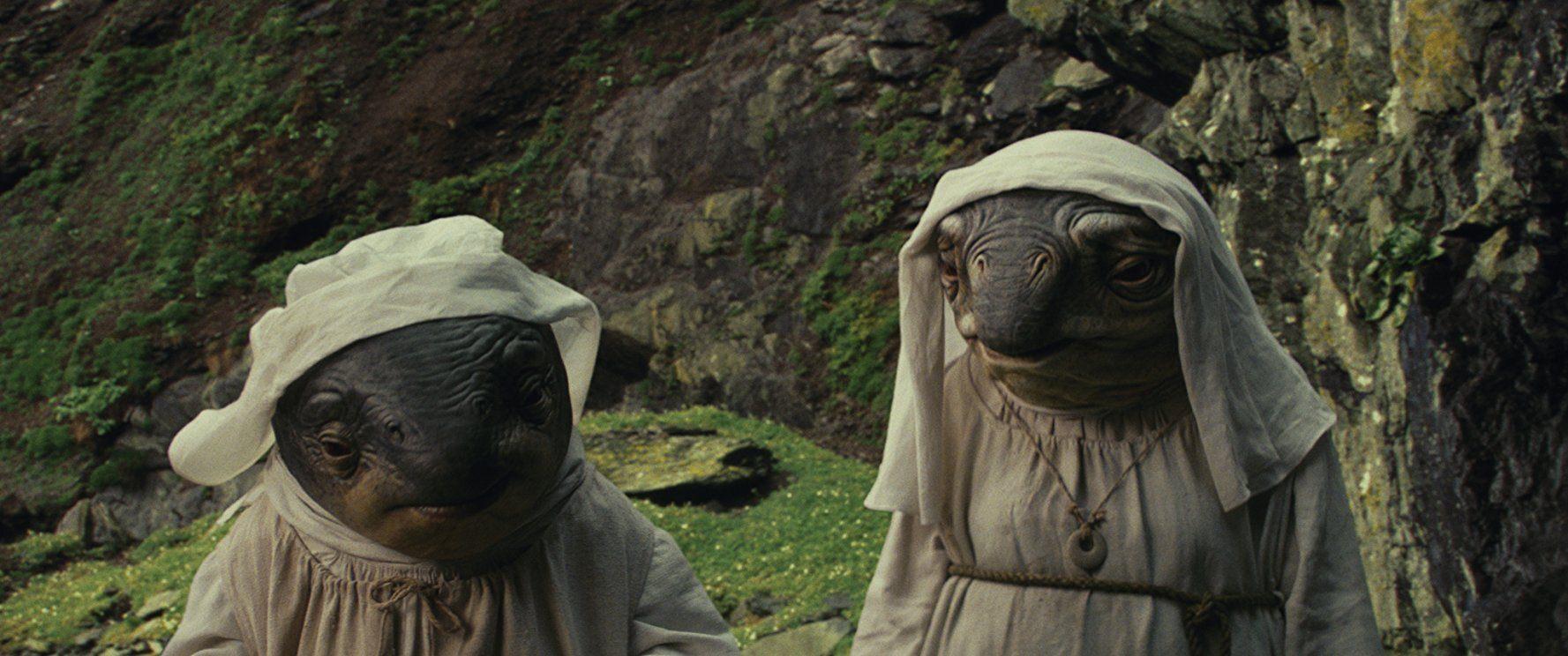 Star Wars: The Last Jedi alien nuns