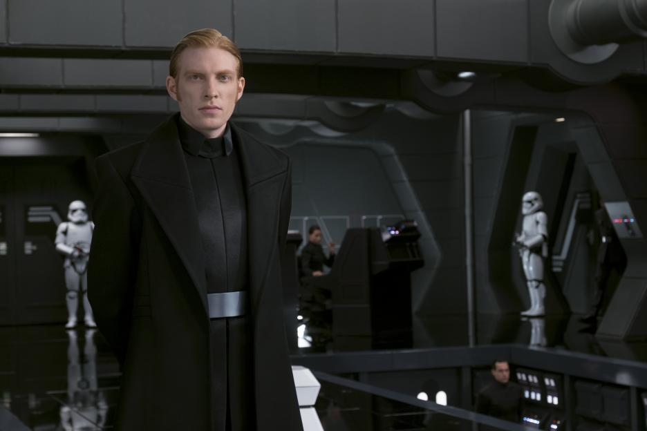 General Hux in Star Wars: The Last Jedi