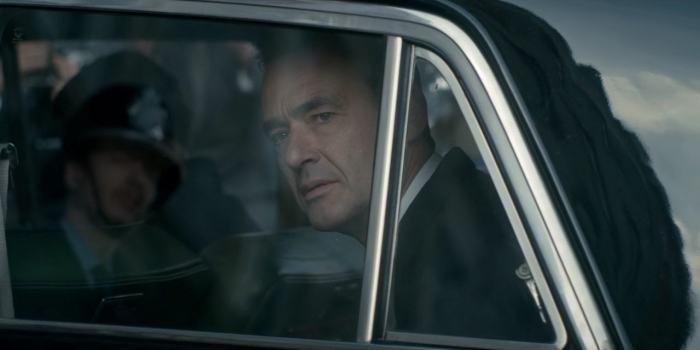 Richard Lintern as Stephen Ward on The Crown