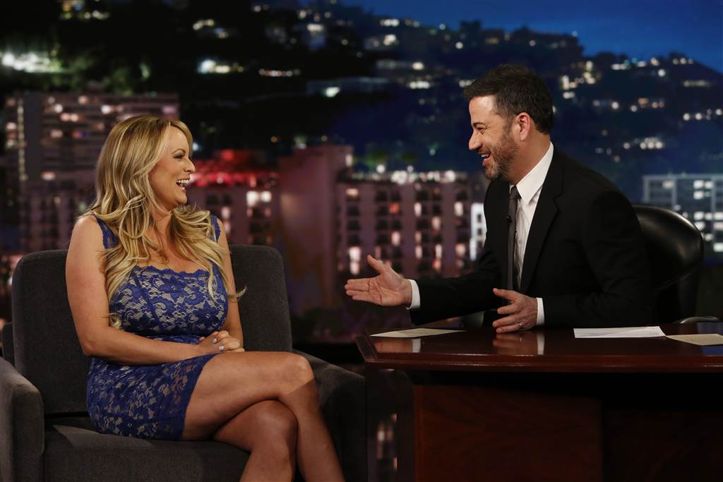 Stormy Daniels on Jimmy Kimmel Live!