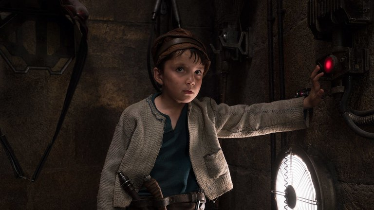 Temiri Blagg in Star Wars: The Last Jedi