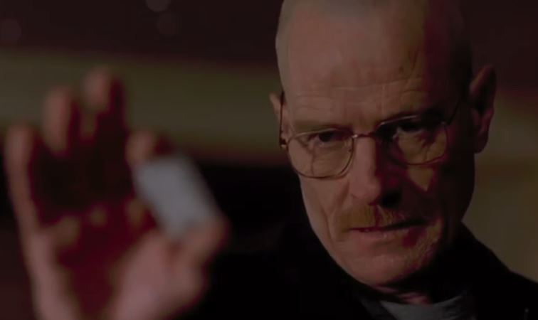 The very first of Heisenberg's calculated moves.