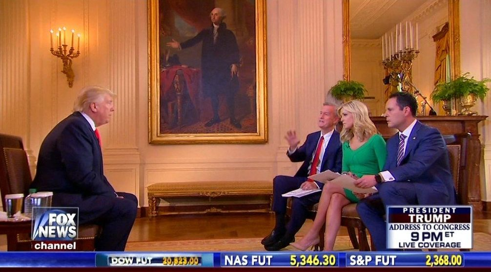 Trump revealed his budget plan on Fox & Friends