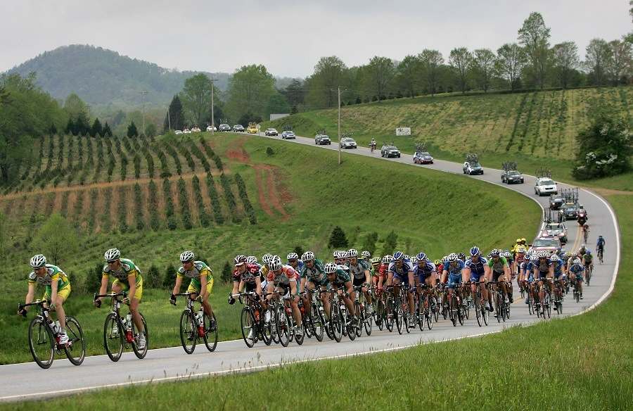 Phonak Hearing System team drives the peloton