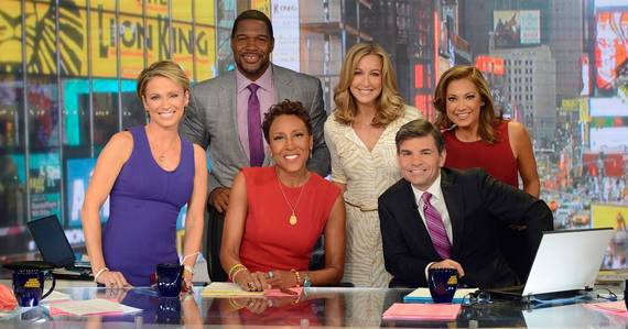 Michael Strahan, Lara Spencer, and more on Good Morning America