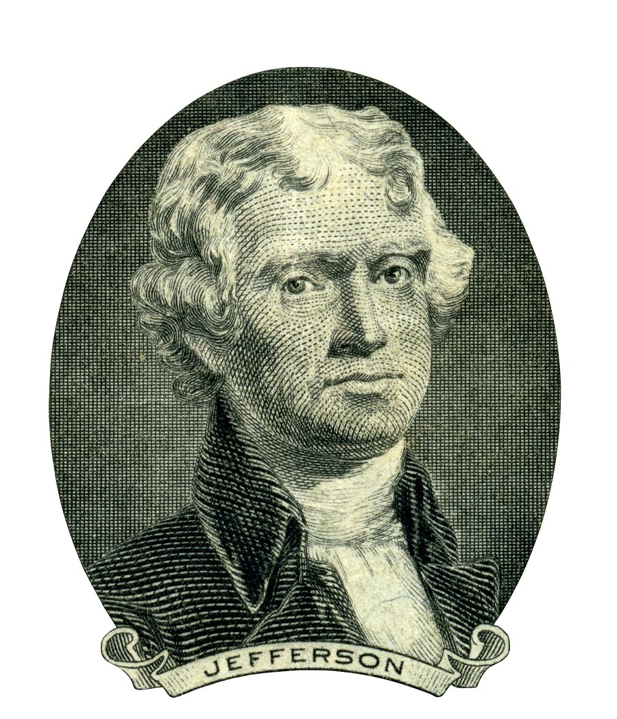 U.S. president Thomas Jefferson