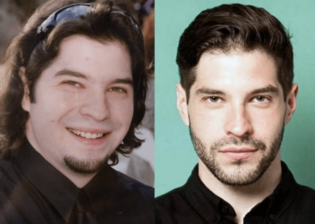 Mike G's weight loss comparison.
