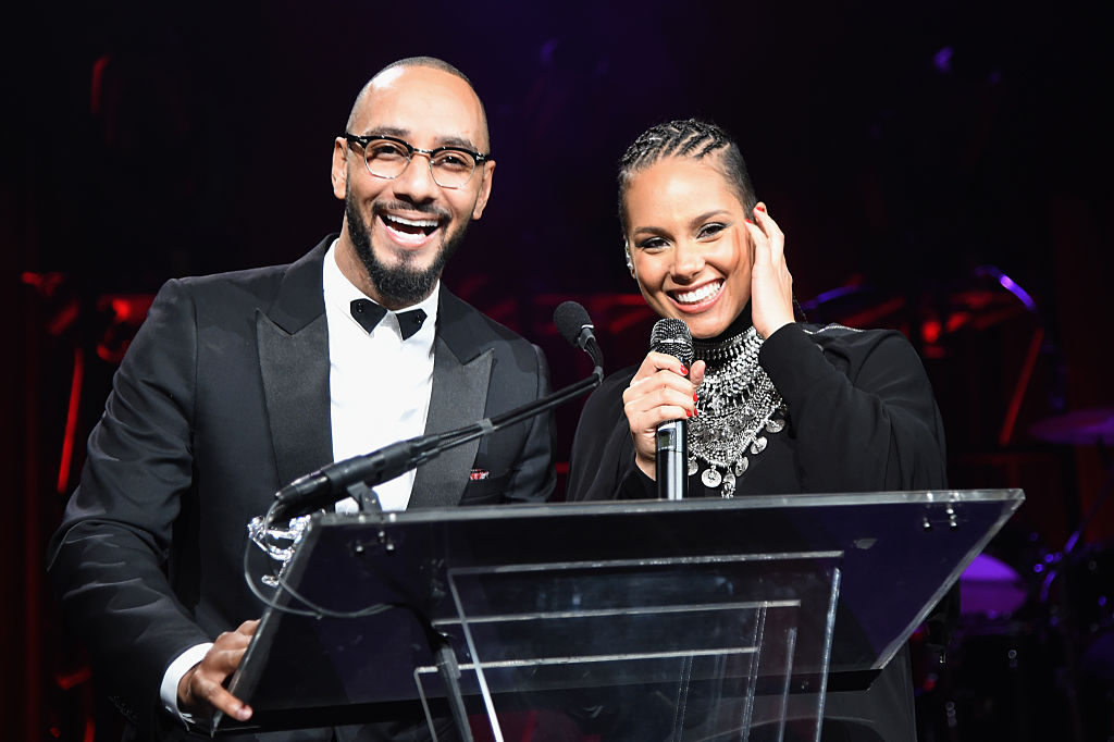 Alicia Keys and husband Swizz Beats