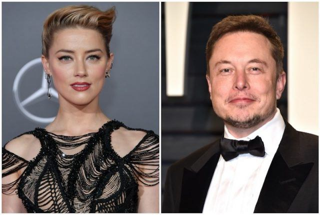 Amber Heard and Elon Musk collage.