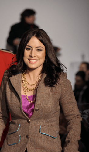 Andrea Tantaros at a fashion show.