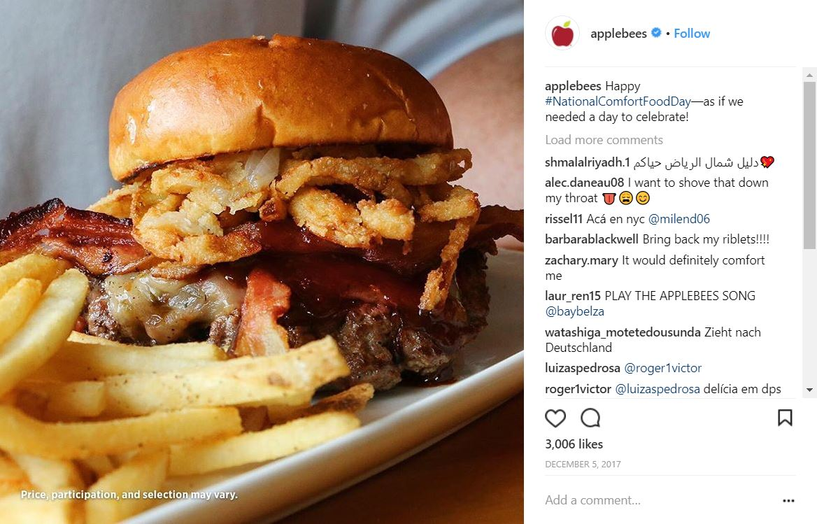 A bacon and onion rings burger