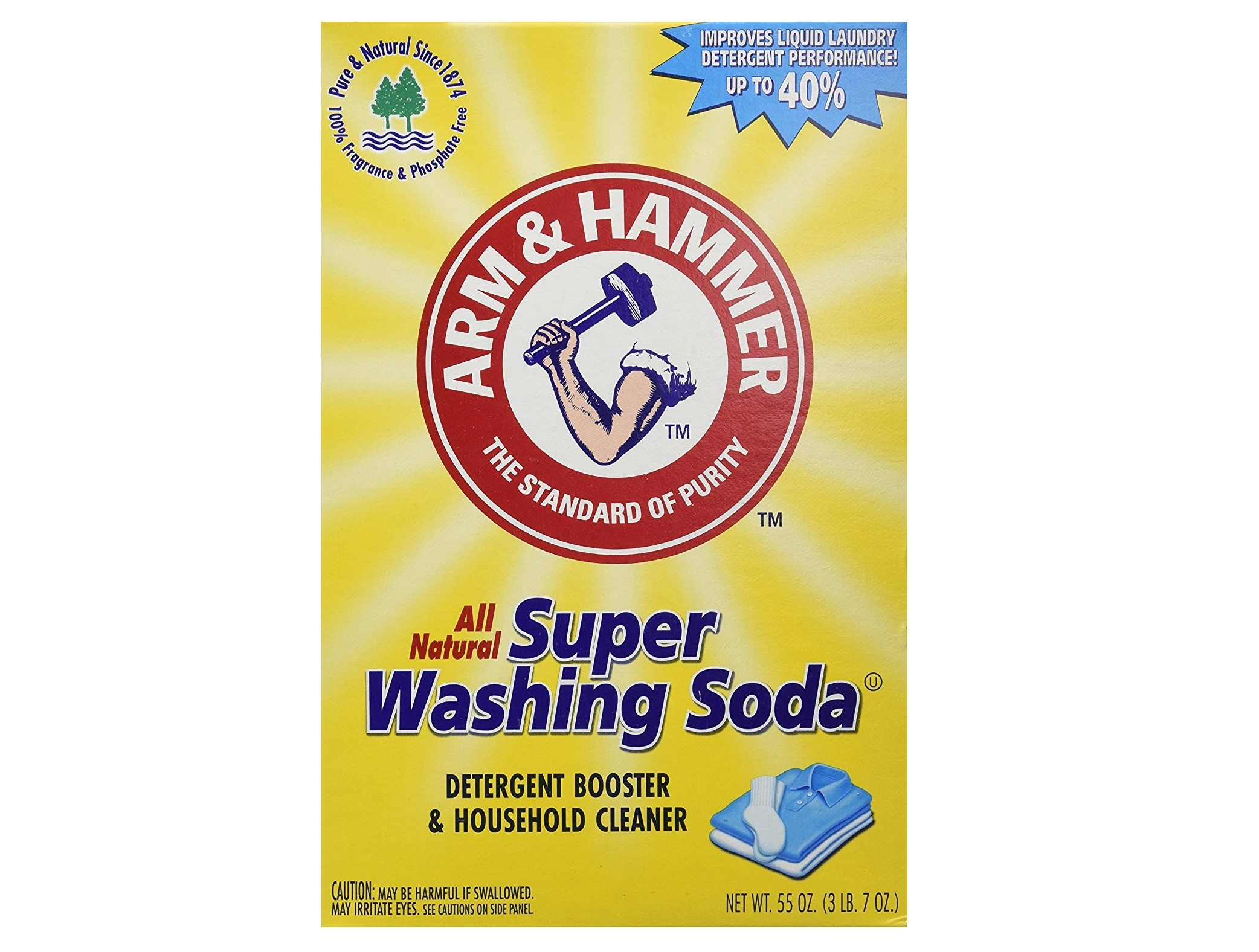 Arm and Hammer washing soda