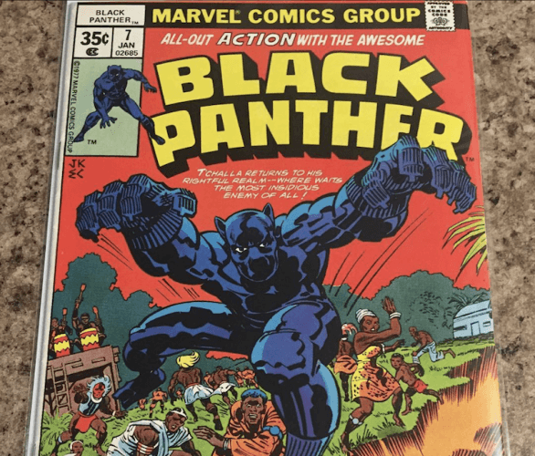 A comic book featuring Bashenga on the cover.