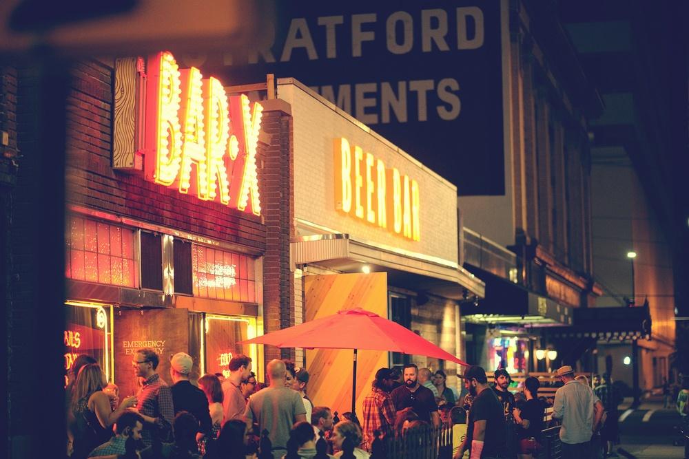 Beer Bar and Bar X