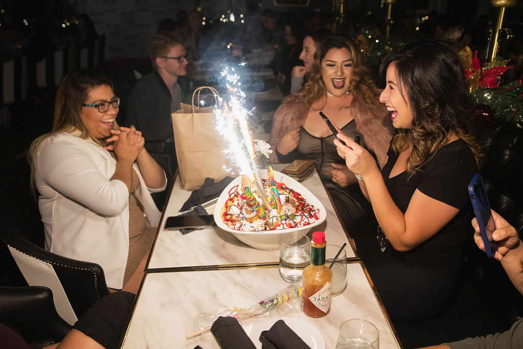 Scott Disick Continues Month-Long Grand Opening Celebration Of Sugar Factory