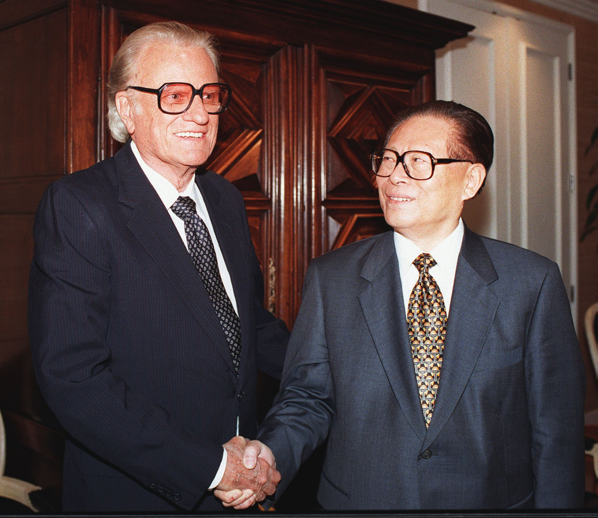 Billy Graham and the President of China
