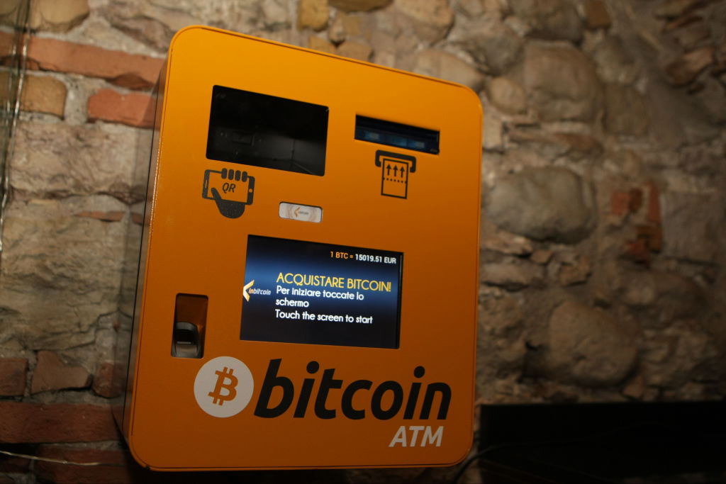 Bitcoin ATM in Italy