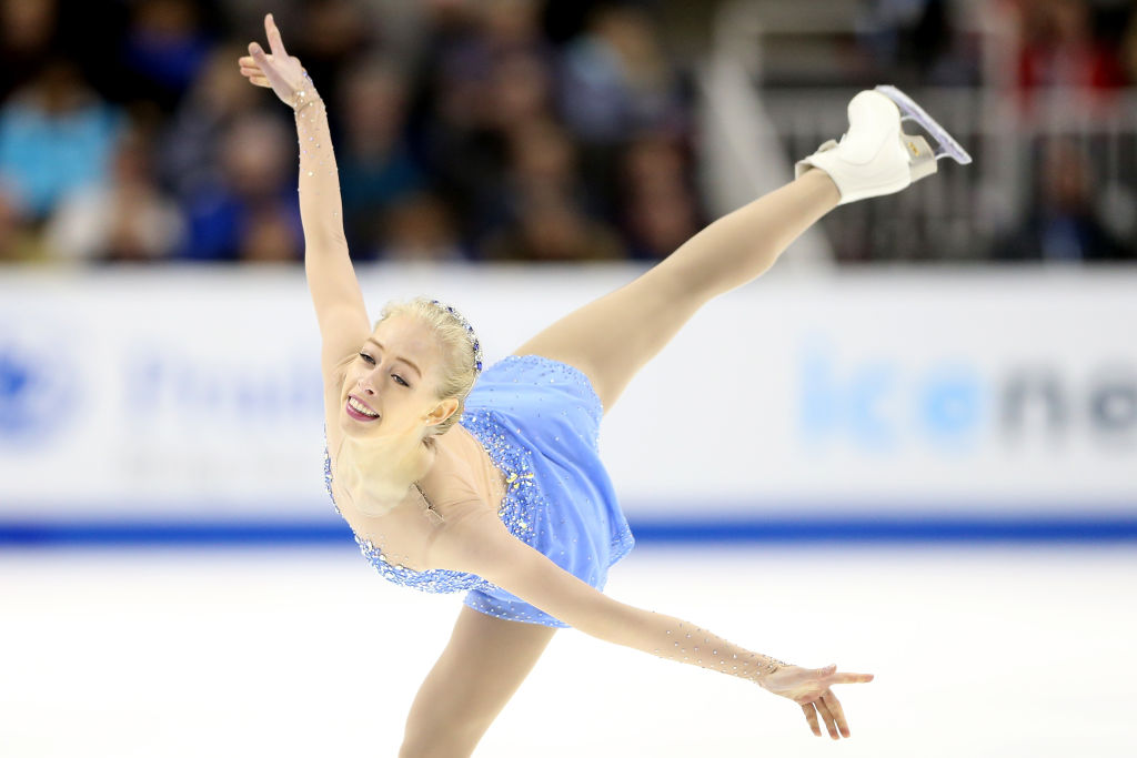 Bradie Tennell competes in the Ladies Free Skate