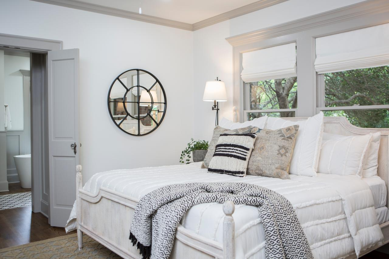 joanna gaines design master bedroom firep