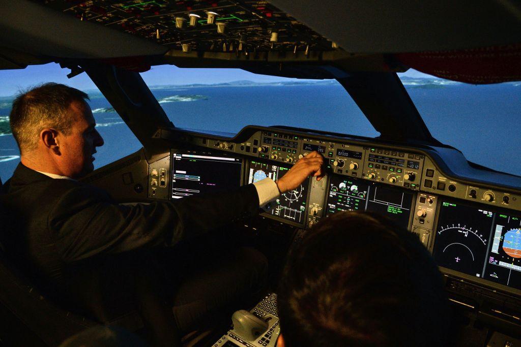 Captain Yann Lardet, General Manager of AATC Airbus
