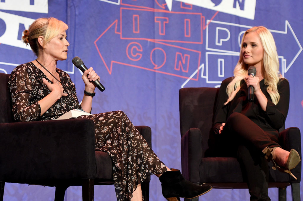 Chelsea Handler (L) and Tomi Lahren