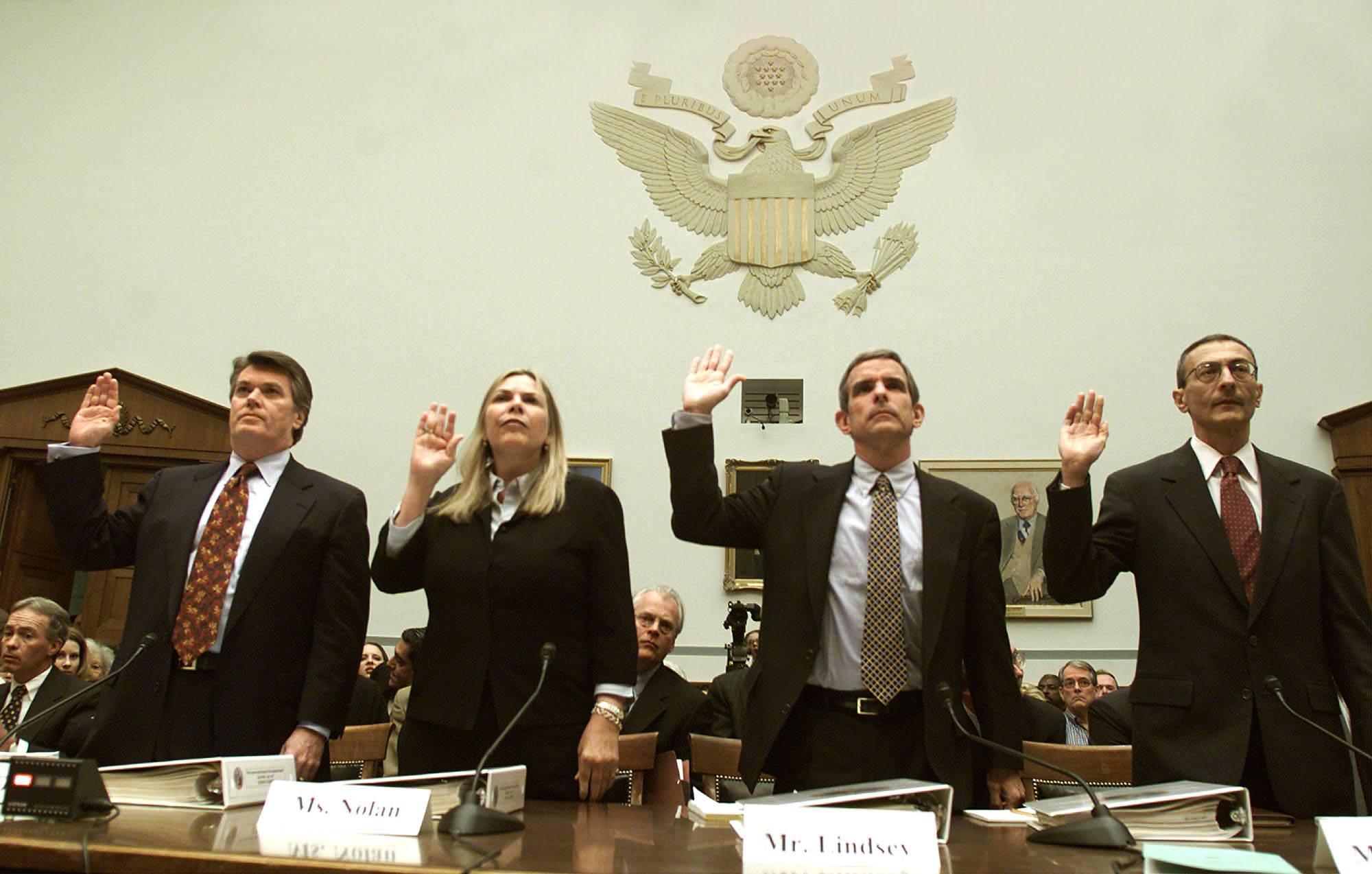 Clinton pardon of Marc Rich testimony