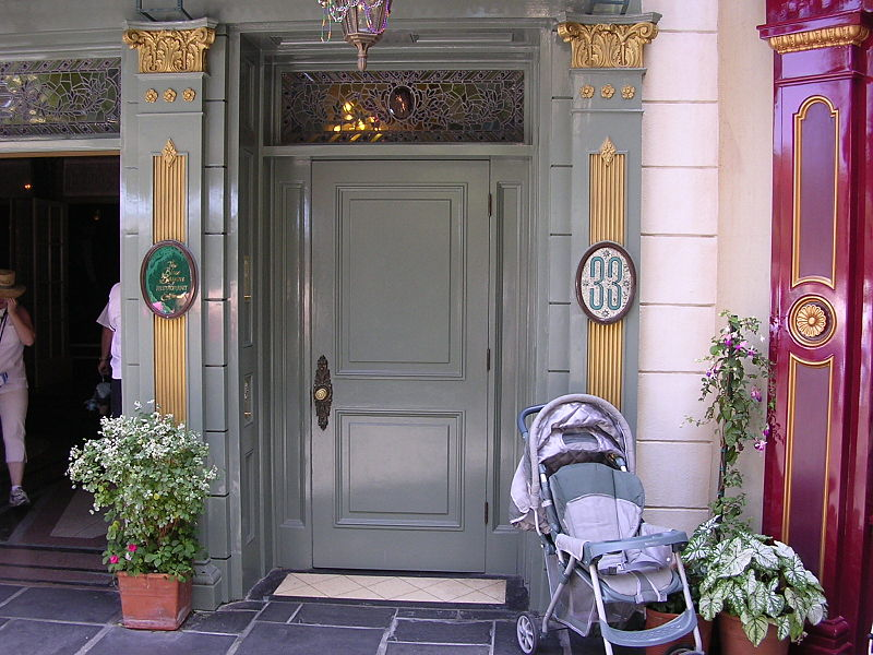 Club 33 Disney doors