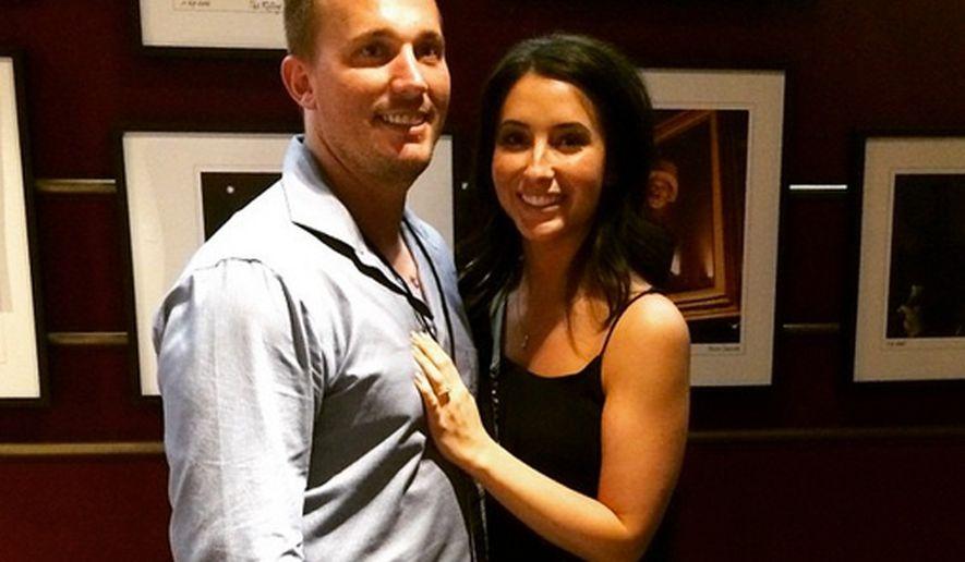 Dakota Meyer and Bristol Palin's engagement photo.