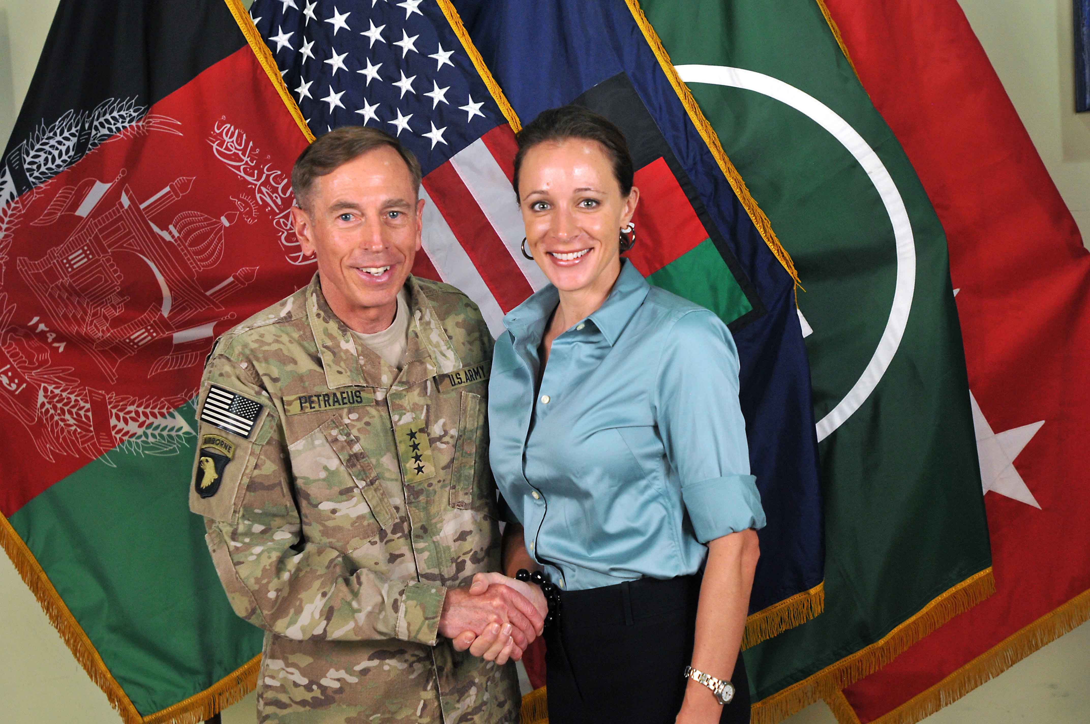 CIA Director Gen. David Petraeus Resigns After Affair with Paula Broadwell