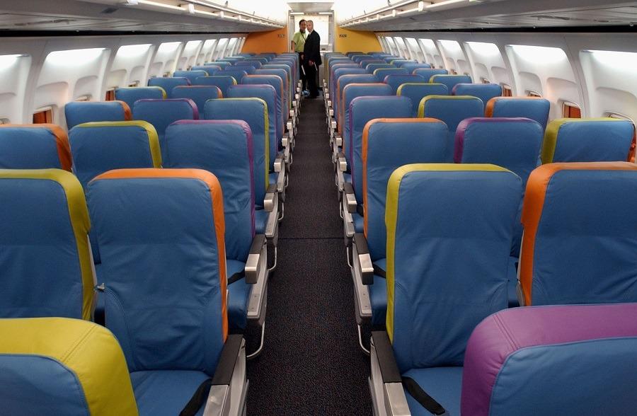 Delta Air Lines interior