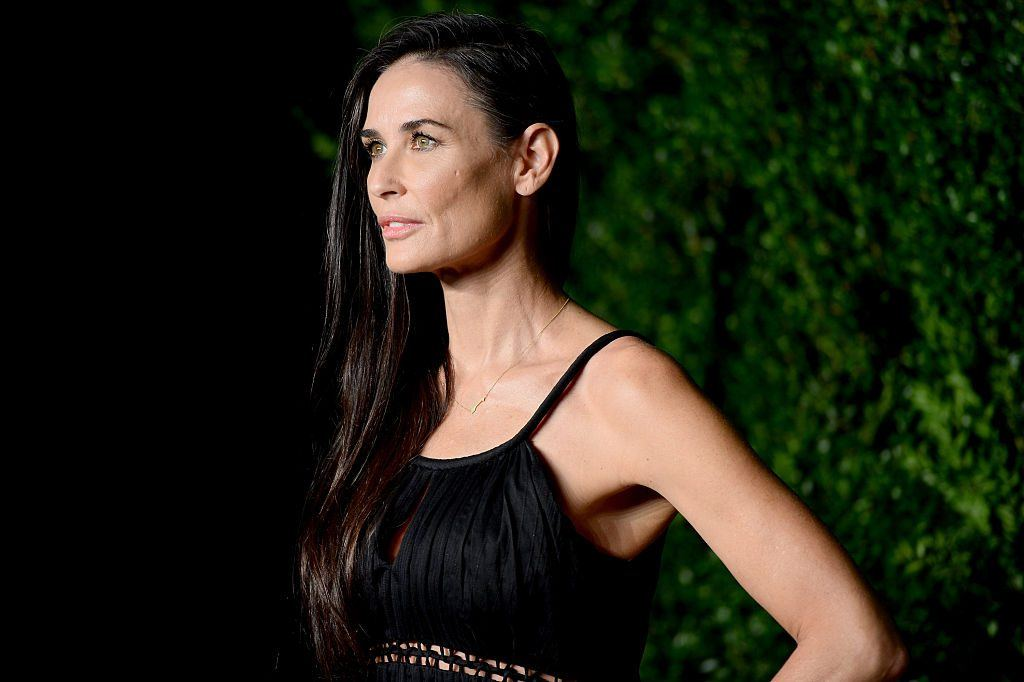 Demi Moore on the red carpet
