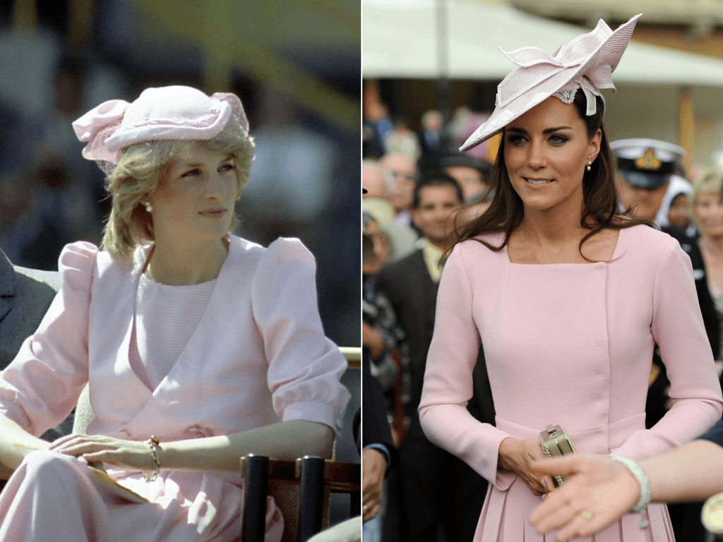 All the Times Kate Middleton's Adorable Style Paid Tribute to Princess Diana's