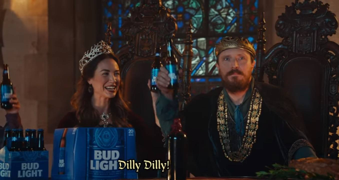 Youll never guess what dilly dilly means and where it came from dilly dilly bud light commercial aloadofball Images
