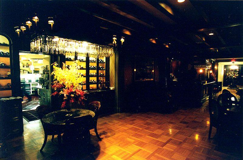 Disney Club 33 bar