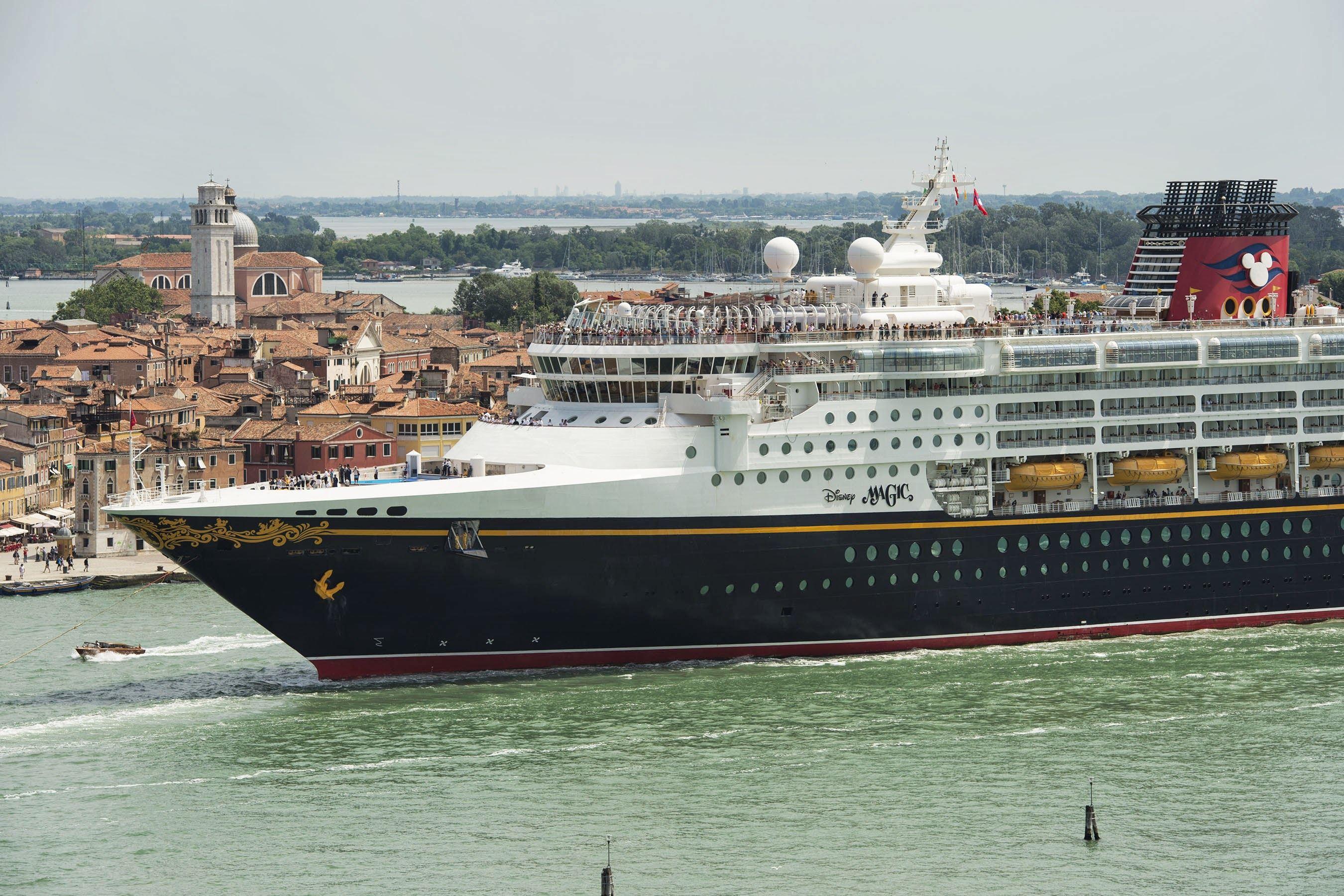 Disney Magic cruise in Venice Italy