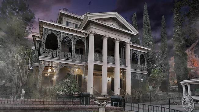Disney haunted mansion California