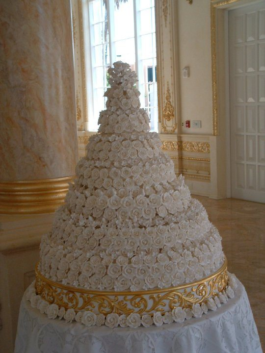 How Much Is A  Tier Sponge Wedding Cake
