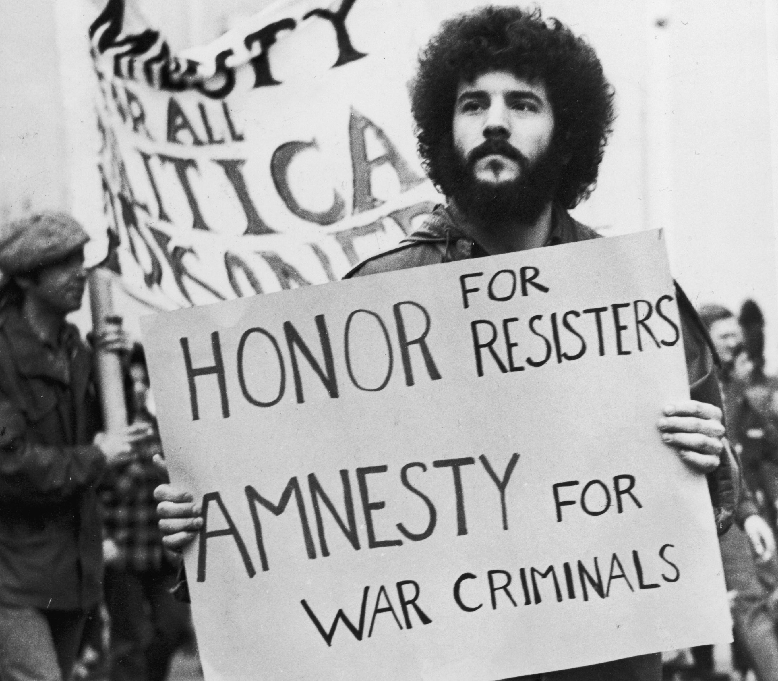 Vietnam War amnesty for draft dodgers