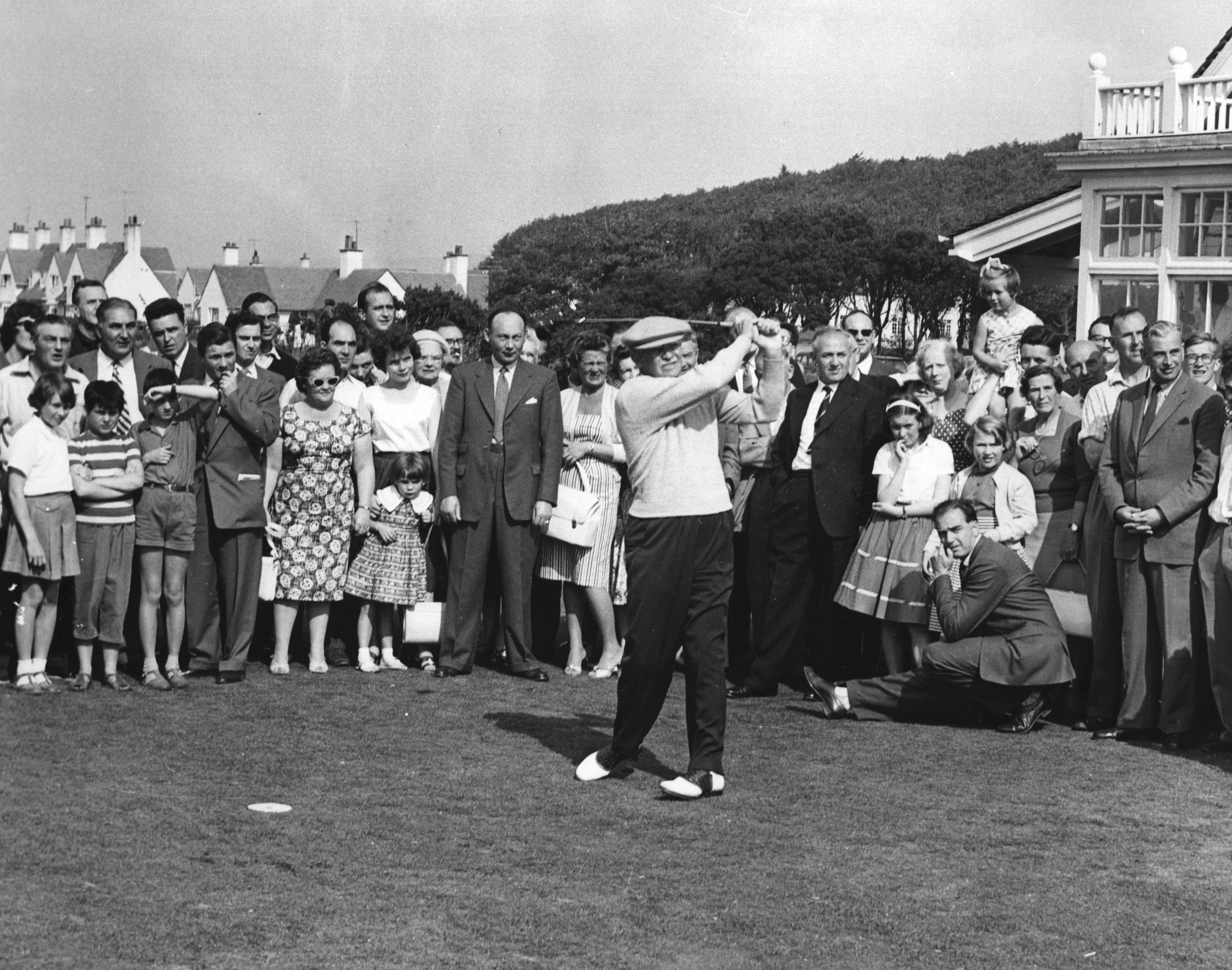 Dwight D Eisenhower golfing