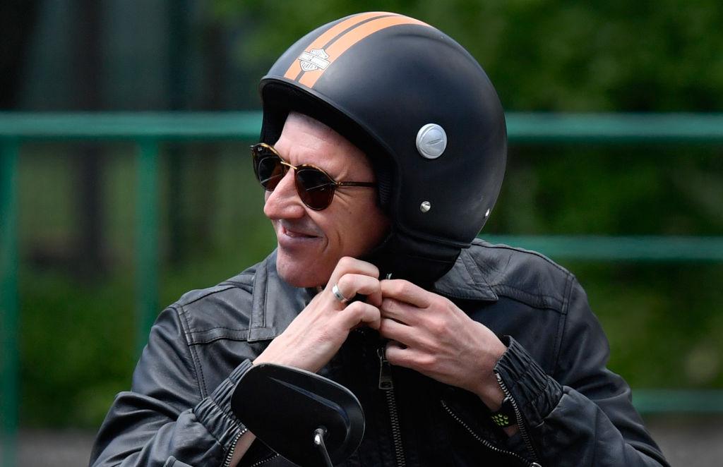 Wear helmet before driving a bike