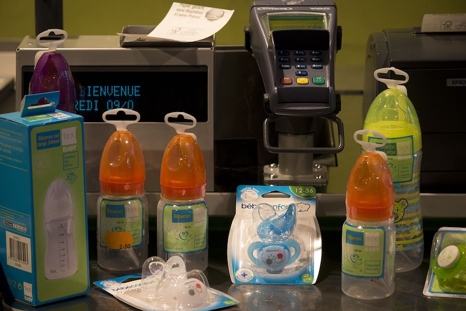 Bisphenol A-free baby accessories