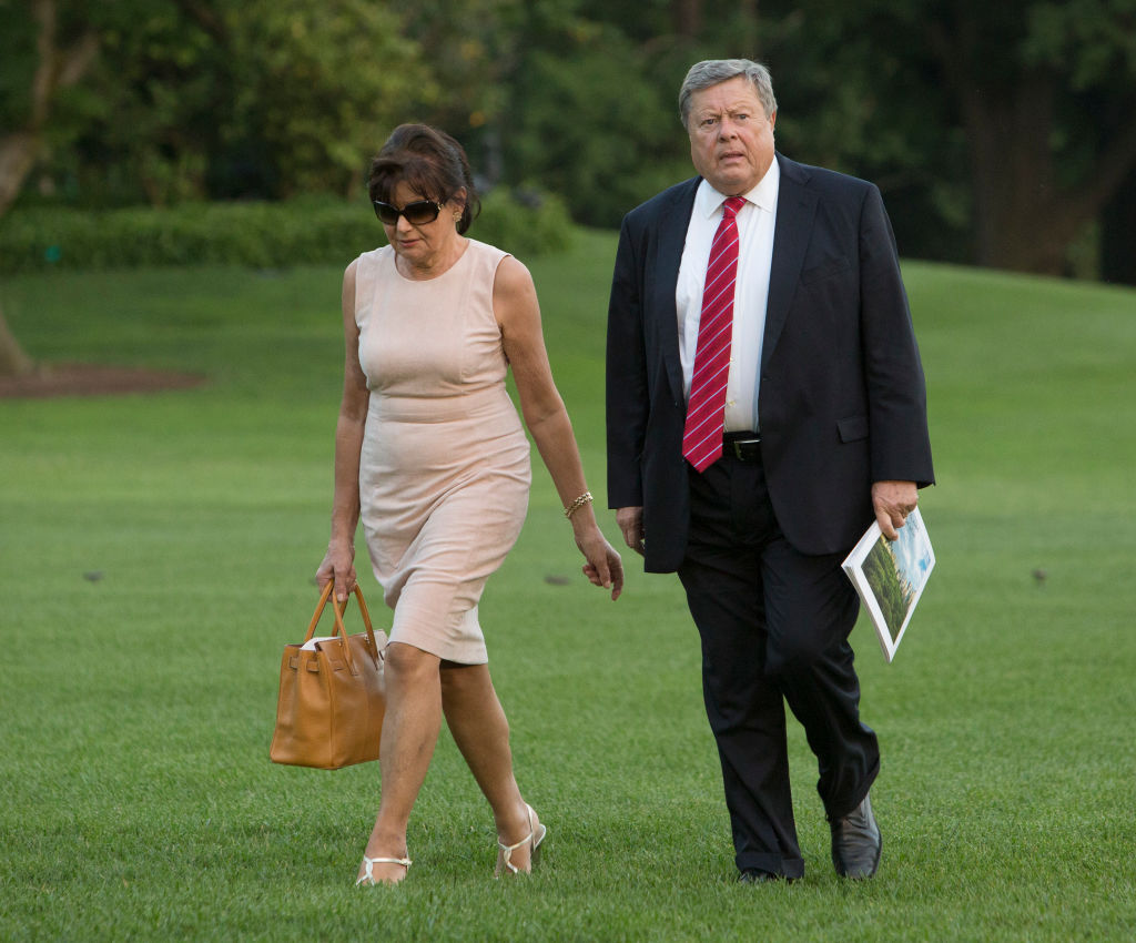 Viktor Knavs and Amalija Knavs, parents of U.S. first lady Melania Trump